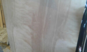 """Birch Plywood - double sided, 4ft by 46 """"    3/4"""""""
