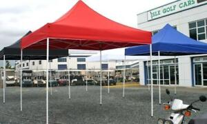 CUSTOM TENTS & POP UP CANOPIES