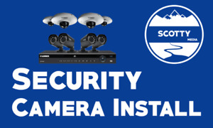 Professional Installation of Indoor/Outdoor Security Cameras
