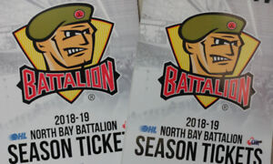 Battalion tickets - multiple games available!!