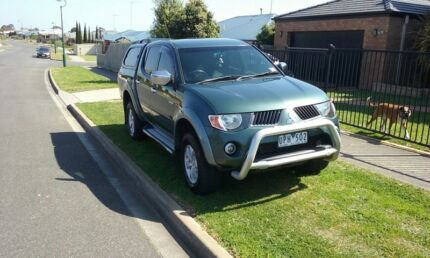 Mitsubishi Triton ML GLS Utility Double Cab 4dr Man 5sp 4x4 3.2DT  Leopold Geelong City Preview