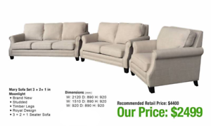 PROVINCIAL STYLE SOFAS - CLASSIC STYLE!