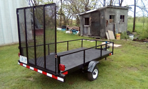 Looking for riding lawn mower to trade for trailer