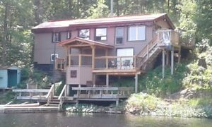 HOT TUB sleeps8 Private FirePit 2hrs fromTO Bass & Trout Fishing