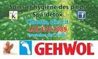 Réflexologie plantaire ! Claudia Girard