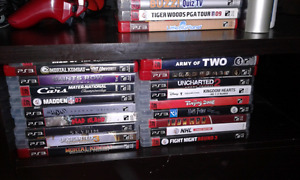 PlayStation 3 ps3 26 games 500gb hard drive barley used