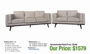 SOFA CLEARANCE! Factory Seconds!! Leumeah Campbelltown Area Preview