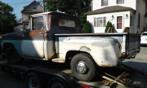 1963 gmc original paint rat rod project