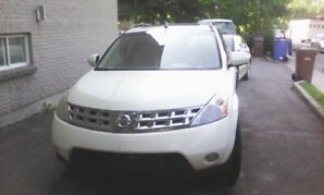 2007 Nissan Murano SL full option VUS 3400