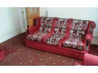 3 piece sofa set.
