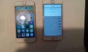 2 iphones 7 32 gb white rose