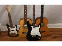 Guitars joblot