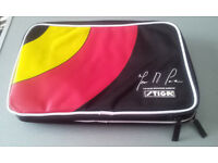 STIGA - TABLE TENNIS BAT DOUBLE COVER - USED IN EXCELLENT CONDITION