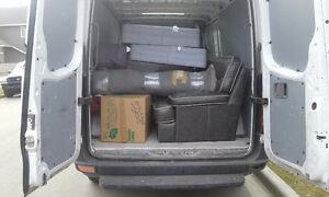 Mattress sectional oversized items delivery 70$ flat in city Edmonton Edmonton Area image 3