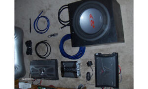 Audiophile quality sounds system components