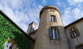 Chalet on a 4*** camping Château Le Verdoyer - Dordogne France
