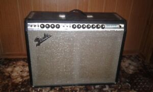 Vintage Fender Twin Reverb original early 70s non Master Vol.