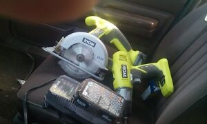 cordless skill saw and drill new