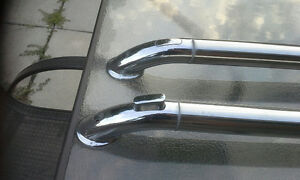 POLISHED STAINLESS BOX RAILS. Peterborough Peterborough Area image 1