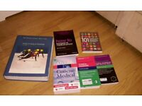 MEDICAL BOOKS (×6) - ESSENTIAL FOUNDATIONS