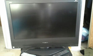 """Flat Screen HD - 32"""" with Stand & SONY DVD Player"""