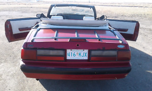SWEET  OLD  1987  MUSTANG LX CONVERTABLE