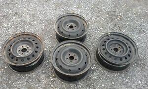 Subaru steel rims 16 inches
