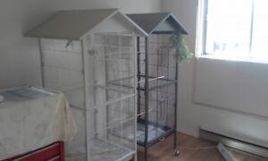 cage voliere - chardonneret - pinsons - canaris