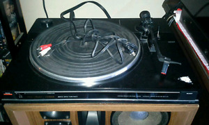 Two turntables