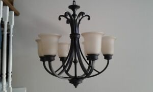 Mint Condition Oil Rubbed Chandelier *New price*