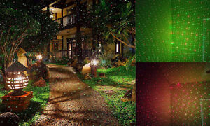 Red & Green Waterproof Laser Outdoor Light W/Remote Cambridge Kitchener Area image 2