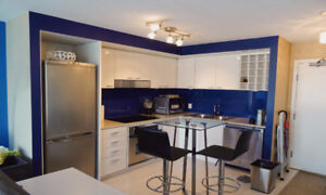 1Bed + 1Den Furnished Rental in Downtown Vancouver