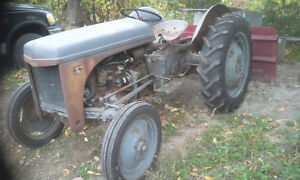 TRACTOR WITH ** SNOW PLOW** plus an addition tractor. Peterborough Peterborough Area image 2