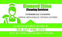 Commercial restaurant and office cleaning