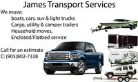 JTS (James Transport Service) For Hire