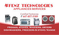 APPLIANCE REPAIR * 647-857-5389 *  Mississauga/Brampton/Caledon