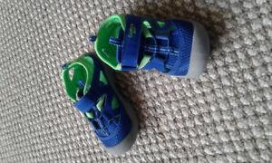 Boys Sandals - worn twice - toddler size 9