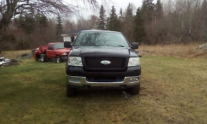 2005 f150  4x4 5.4 3valve motor and auto trans for sale an parts