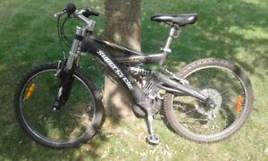 Mountain bike / vélo de montagne;   5'3''- 5'6'' height/grandeur