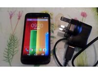 MOTOROLA MOTO G 4G **UNLOCKED ANY SIM** Android smartphone