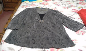 Gently used plus sized clothing