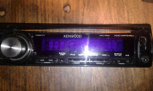 Kenwood deck with Aux and USB
