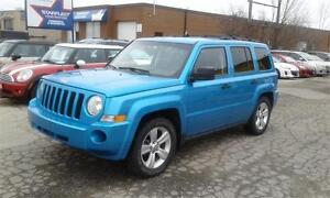 2008 JEEP PATRIOT 4X4 SPORT KM:140,000 PRICE:$5,495 MANUAL 5 SPE
