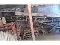 Single Phase Potato Conveyor / elevator (could be used for firewood)