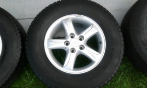Tires and Rims P235/70R16