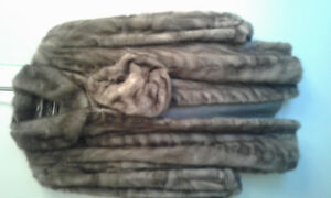3/4 Mink Coat and Hat REDUCED TO $500.00