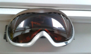 Julbo skiing goggles that can go overneath your glasses