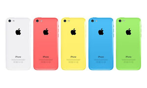 iPhone 5c 16GB Unlocked (Blue & Pink), Only $ 235