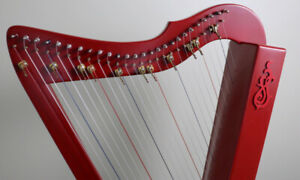 Rees Harps - Flatsicle - 26 string harp