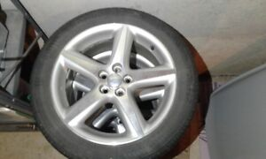 "Original 17"" wheels for 2007 Toyota Matrix TRD."